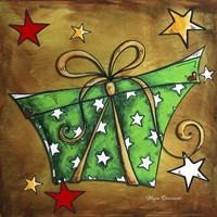 Green Stars Present Fine-Art Print