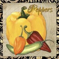 Vegetables 1 Peppers Fine-Art Print