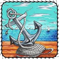 Anchors Away Rope Fine-Art Print