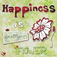 Happiness Is A Pretty Flower Fine-Art Print