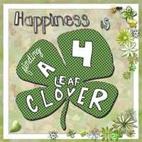 Happiness Is Finding A Four Leaf Clover Fine-Art Print