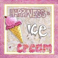 Happiness Is Ice Cream Fine-Art Print