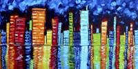City Nights II Fine-Art Print