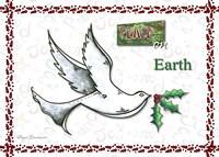 Dove Peace On Earth Fine-Art Print