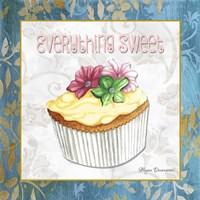 Everything Sweet Vanilla Cupcake Fine-Art Print