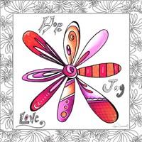 Hope Joy Love Fine-Art Print