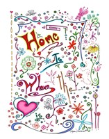 Home Is Where The Heart Is Fine-Art Print