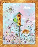 Bird House 3 Fine-Art Print
