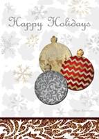 Fancy Happy Holidays Fine-Art Print