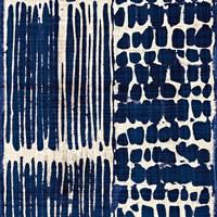 Indigo Batik III Fine-Art Print
