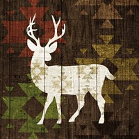 Southwest Lodge - Deer I Fine-Art Print