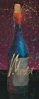 Wine Splash Dark IV Fine-Art Print