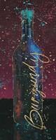 Wine Splash Dark V Fine-Art Print
