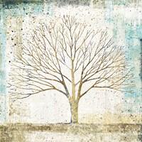 Solitary Tree Collage Fine-Art Print