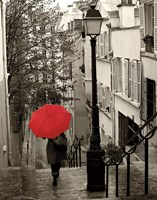 Paris Stroll II Fine-Art Print