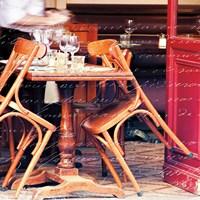 Paris Cafe Letter Fine-Art Print