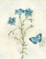 Booked Blue III Crop Fine-Art Print