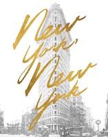 Gilded New York Fine-Art Print