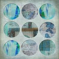 Circle Turquoise Fine-Art Print