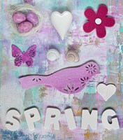 Spring Collage Fine-Art Print