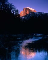 Half Dome, Merced River, Yosemite, California Fine-Art Print