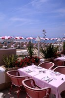 Riviera Cafe, Cannes, France Fine-Art Print