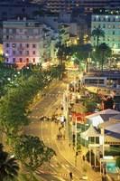 Overview of La Pantiero, Cannes, France Fine-Art Print