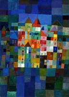 Block Town at Night Fine-Art Print