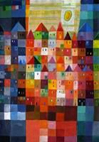 Block Town at Noon Fine-Art Print