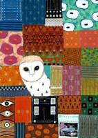 Paradise Owl Fine-Art Print