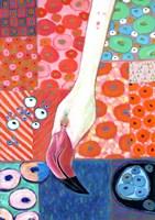 Paradise Flamingo Fine-Art Print