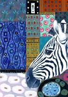 Paradise Zebra Fine-Art Print