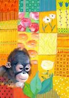 Paradise Monkey Fine-Art Print