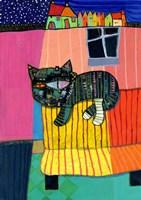 Sofa Cat Fine-Art Print