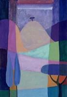 Purple Valleys Fine-Art Print