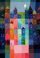 Block Town at Dusk Fine-Art Print