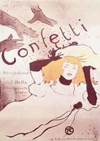 Confetti, 1893 Fine-Art Print