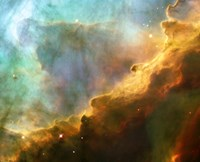 A Perfect Storm of Turbulent Gases in the Omega/Swan Nebula (M17) Fine-Art Print