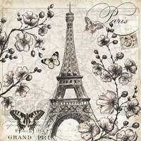 Paris in Bloom I Fine-Art Print