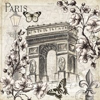 Paris in Bloom II Fine-Art Print