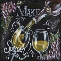 Chalkboard Wine II Fine-Art Print