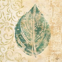 Leaf  Scroll I Fine-Art Print