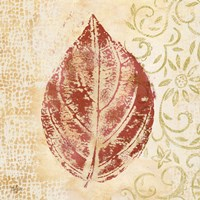 Leaf Scroll II Fine-Art Print