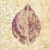 Leaf Scroll III Fine-Art Print
