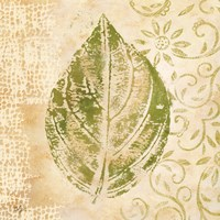 Leaf Scroll IV Fine-Art Print