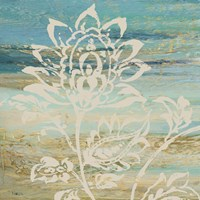 Blue Indigo w/Lace I Fine-Art Print