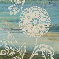 Blue Indigo w/Lace II Fine-Art Print