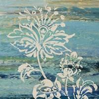 Blue Indigo w/Lace III Fine-Art Print