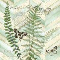 Chevron Botanical II Fine-Art Print
