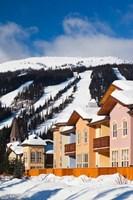 Ski lodges, Sun Peaks Resort, Sun Peaks, British Columbia, Canada Fine-Art Print